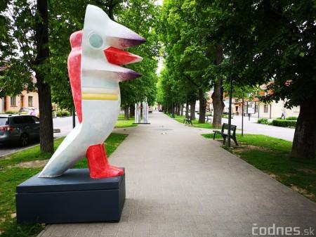 Foto a video: Výstava na pešej promenáde BOJNICE V SOCHE 4. ročník 3