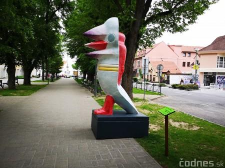 Foto a video: Výstava na pešej promenáde BOJNICE V SOCHE 4. ročník 5