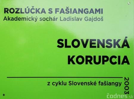 Foto a video: Výstava na pešej promenáde BOJNICE V SOCHE 4. ročník 7