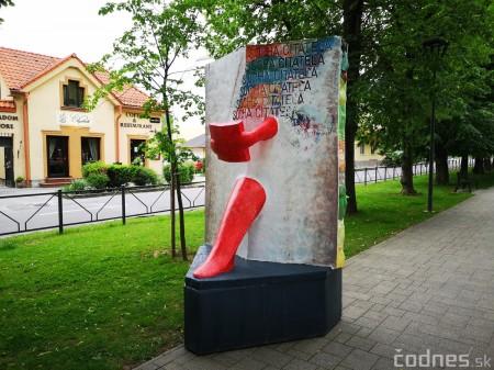 Foto a video: Výstava na pešej promenáde BOJNICE V SOCHE 4. ročník 10