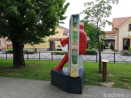 Foto a video: Výstava na pešej promenáde BOJNICE V SOCHE 4. ročník 11