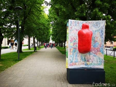 Foto a video: Výstava na pešej promenáde BOJNICE V SOCHE 4. ročník 13