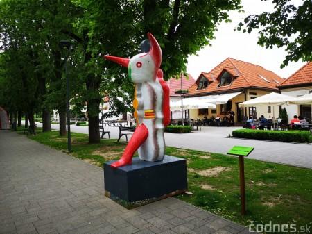 Foto a video: Výstava na pešej promenáde BOJNICE V SOCHE 4. ročník 14