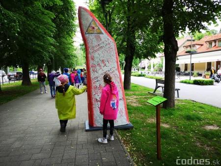 Foto a video: Výstava na pešej promenáde BOJNICE V SOCHE 4. ročník 17