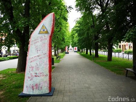 Foto a video: Výstava na pešej promenáde BOJNICE V SOCHE 4. ročník 20