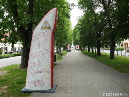 Foto a video: Výstava na pešej promenáde BOJNICE V SOCHE 4. ročník 25