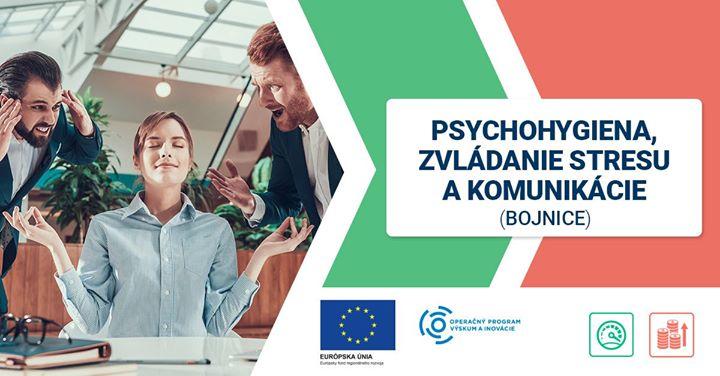 Psychohygiena, zvládanie stresu a komunikácie (Bojnice)