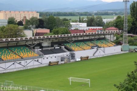 Foto: Rekonštrukcia futbalového štadióna v Prievidzi za 1,23 milióna eur je hotová 0