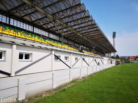 Foto: Rekonštrukcia futbalového štadióna v Prievidzi za 1,23 milióna eur je hotová 2