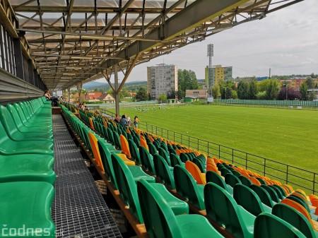 Foto: Rekonštrukcia futbalového štadióna v Prievidzi za 1,23 milióna eur je hotová 1