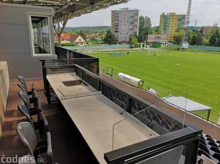 Foto: Rekonštrukcia futbalového štadióna v Prievidzi za 1,23 milióna eur je hotová 10