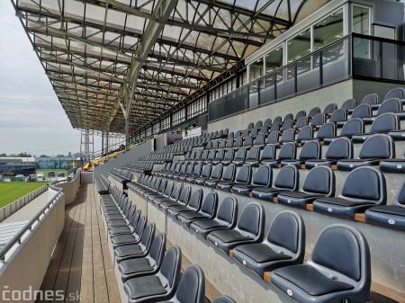 Foto: Rekonštrukcia futbalového štadióna v Prievidzi za 1,23 milióna eur je hotová 14