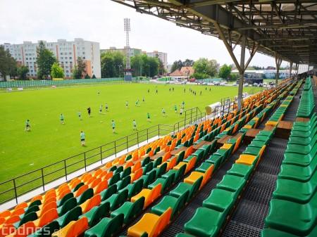 Foto: Rekonštrukcia futbalového štadióna v Prievidzi za 1,23 milióna eur je hotová 16