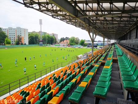 Foto: Rekonštrukcia futbalového štadióna v Prievidzi za 1,23 milióna eur je hotová 17