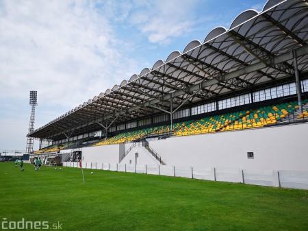 Foto: Rekonštrukcia futbalového štadióna v Prievidzi za 1,23 milióna eur je hotová 19