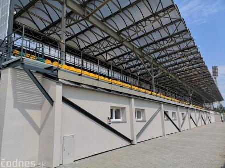Foto: Rekonštrukcia futbalového štadióna v Prievidzi za 1,23 milióna eur je hotová 20