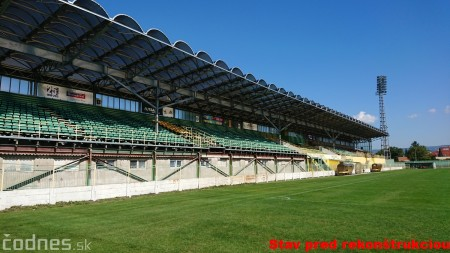 Foto: Rekonštrukcia futbalového štadióna v Prievidzi za 1,23 milióna eur je hotová 48