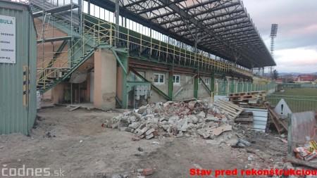 Foto: Rekonštrukcia futbalového štadióna v Prievidzi za 1,23 milióna eur je hotová 57