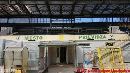Foto: Rekonštrukcia futbalového štadióna v Prievidzi za 1,23 milióna eur je hotová 60