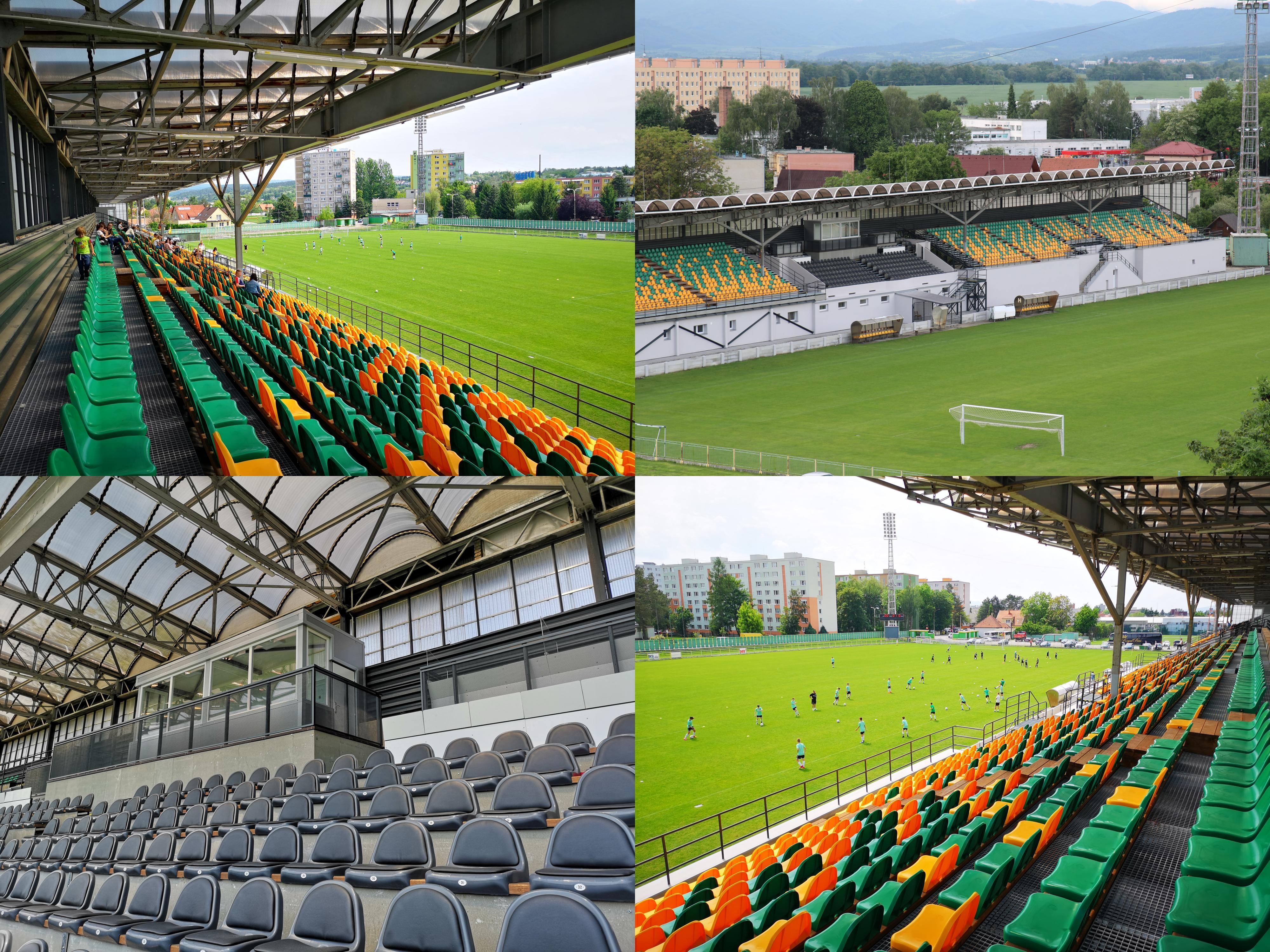 Foto: Rekonštrukcia futbalového štadióna v Prievidzi za 1,23 milióna eur je hotová