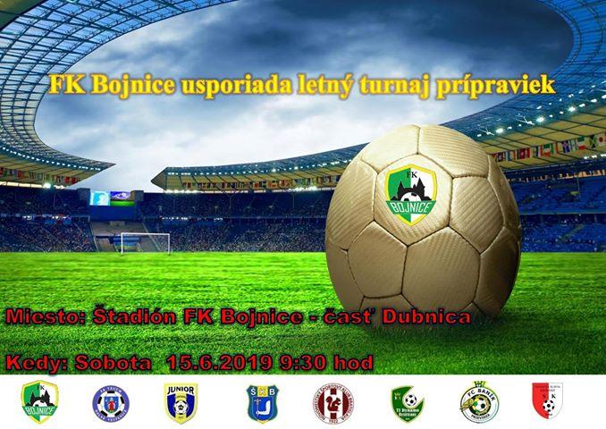 FK Bojnice - letný turnaj prípraviek rok narodenia 2010 a mladší