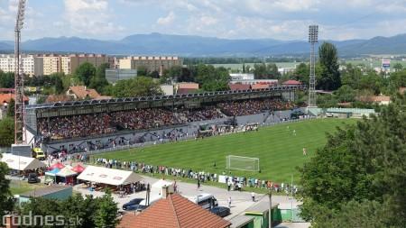 Foto a video: 100 rokov futbalu v Prievidzi veľkolepé oslavy a exhibičný zápas ŠKRŤO tím vs KUCO tím 0