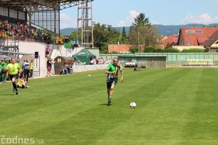 Foto a video: 100 rokov futbalu v Prievidzi veľkolepé oslavy a exhibičný zápas ŠKRŤO tím vs KUCO tím 1