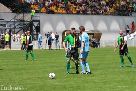 Foto a video: 100 rokov futbalu v Prievidzi veľkolepé oslavy a exhibičný zápas ŠKRŤO tím vs KUCO tím 6