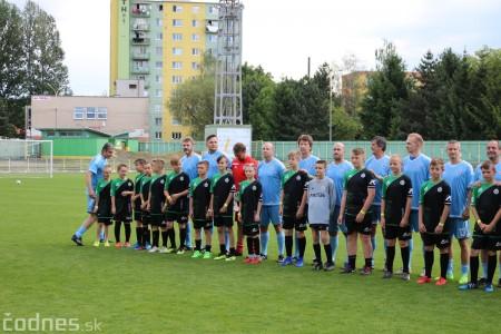 Foto a video: 100 rokov futbalu v Prievidzi veľkolepé oslavy a exhibičný zápas ŠKRŤO tím vs KUCO tím 13
