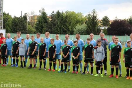 Foto a video: 100 rokov futbalu v Prievidzi veľkolepé oslavy a exhibičný zápas ŠKRŤO tím vs KUCO tím 14