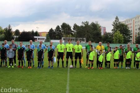 Foto a video: 100 rokov futbalu v Prievidzi veľkolepé oslavy a exhibičný zápas ŠKRŤO tím vs KUCO tím 16