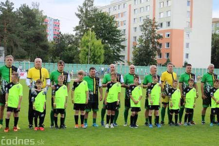 Foto a video: 100 rokov futbalu v Prievidzi veľkolepé oslavy a exhibičný zápas ŠKRŤO tím vs KUCO tím 17