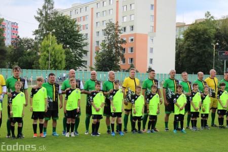 Foto a video: 100 rokov futbalu v Prievidzi veľkolepé oslavy a exhibičný zápas ŠKRŤO tím vs KUCO tím 18