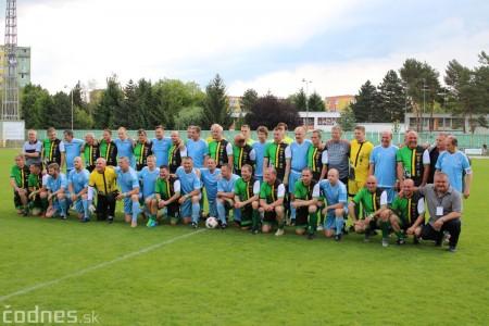 Foto a video: 100 rokov futbalu v Prievidzi veľkolepé oslavy a exhibičný zápas ŠKRŤO tím vs KUCO tím 19