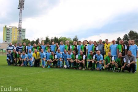 Foto a video: 100 rokov futbalu v Prievidzi veľkolepé oslavy a exhibičný zápas ŠKRŤO tím vs KUCO tím 20
