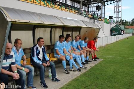 Foto a video: 100 rokov futbalu v Prievidzi veľkolepé oslavy a exhibičný zápas ŠKRŤO tím vs KUCO tím 23