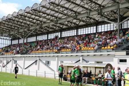 Foto a video: 100 rokov futbalu v Prievidzi veľkolepé oslavy a exhibičný zápas ŠKRŤO tím vs KUCO tím 31