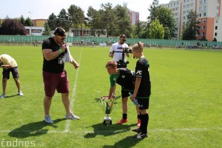 Foto a video: 100 rokov futbalu v Prievidzi veľkolepé oslavy a exhibičný zápas ŠKRŤO tím vs KUCO tím 32