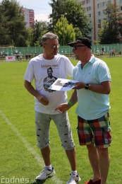 Foto a video: 100 rokov futbalu v Prievidzi veľkolepé oslavy a exhibičný zápas ŠKRŤO tím vs KUCO tím 35