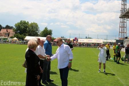 Foto a video: 100 rokov futbalu v Prievidzi veľkolepé oslavy a exhibičný zápas ŠKRŤO tím vs KUCO tím 36