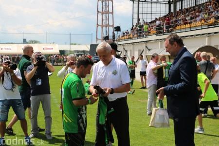Foto a video: 100 rokov futbalu v Prievidzi veľkolepé oslavy a exhibičný zápas ŠKRŤO tím vs KUCO tím 37