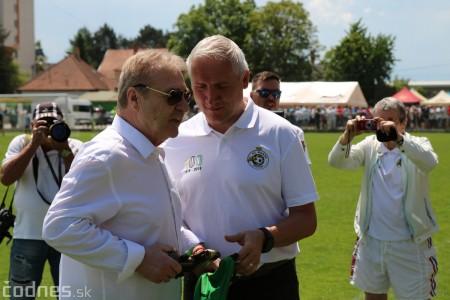 Foto a video: 100 rokov futbalu v Prievidzi veľkolepé oslavy a exhibičný zápas ŠKRŤO tím vs KUCO tím 38
