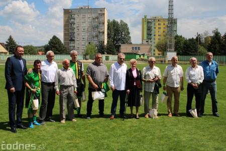 Foto a video: 100 rokov futbalu v Prievidzi veľkolepé oslavy a exhibičný zápas ŠKRŤO tím vs KUCO tím 39
