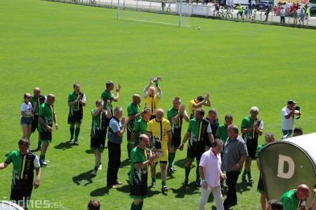 Foto a video: 100 rokov futbalu v Prievidzi veľkolepé oslavy a exhibičný zápas ŠKRŤO tím vs KUCO tím 41