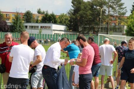 Foto a video: 100 rokov futbalu v Prievidzi veľkolepé oslavy a exhibičný zápas ŠKRŤO tím vs KUCO tím 43