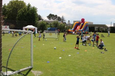 Foto a video: 100 rokov futbalu v Prievidzi veľkolepé oslavy a exhibičný zápas ŠKRŤO tím vs KUCO tím 45