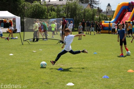 Foto a video: 100 rokov futbalu v Prievidzi veľkolepé oslavy a exhibičný zápas ŠKRŤO tím vs KUCO tím 46
