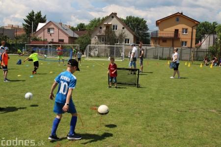 Foto a video: 100 rokov futbalu v Prievidzi veľkolepé oslavy a exhibičný zápas ŠKRŤO tím vs KUCO tím 50