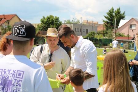 Foto a video: 100 rokov futbalu v Prievidzi veľkolepé oslavy a exhibičný zápas ŠKRŤO tím vs KUCO tím 51