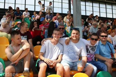 Foto a video: 100 rokov futbalu v Prievidzi veľkolepé oslavy a exhibičný zápas ŠKRŤO tím vs KUCO tím 55